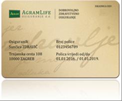 Ugovor sa AGRAM LIFE osiguranjem