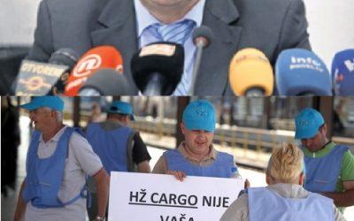 Zahtjev za smjenom Uprave društva HŽ Cargo d.o.o.