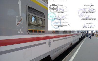U HŽ Putničkom prijevozu 21. prosinca 2017. potpisan IV. Dodatak Kolektivnom ugovoru