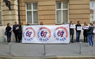 Sindikalci pozivali saborske zastupnike da odbace mirovinsku reformu